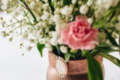 White & Pink Flower Arrangement