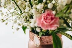 White & Pink Flower Arrangement